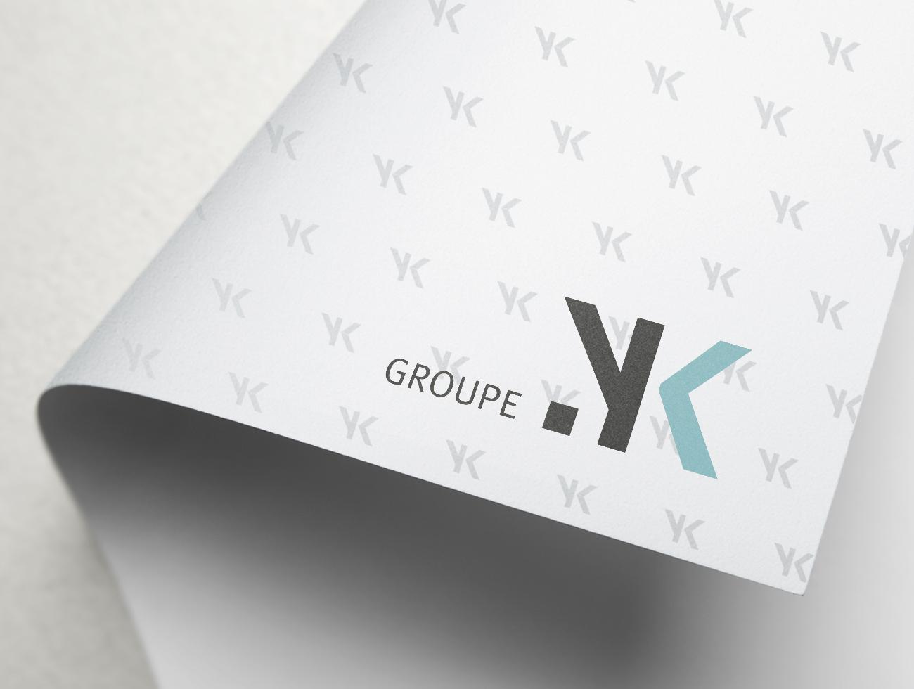 Portfolio TRIDAL logo Groupe YK