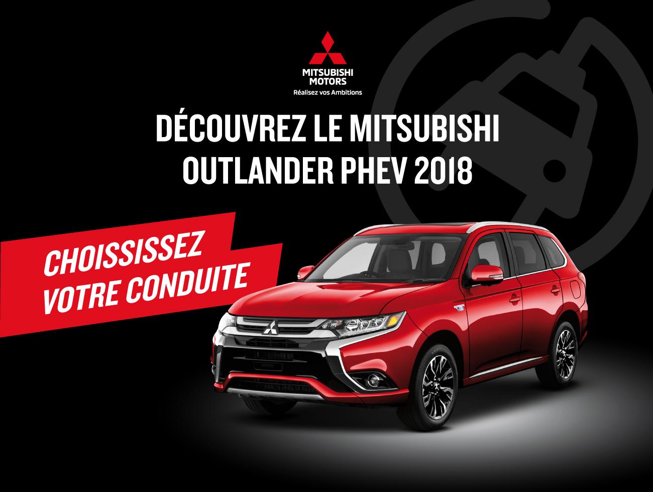 Publicité journaux Mitsubishi